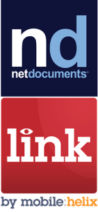 NetDocuments and LINK by Mobile Helix PNG